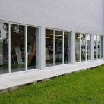 Outdoor Glass Door