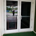 Glass Door Front