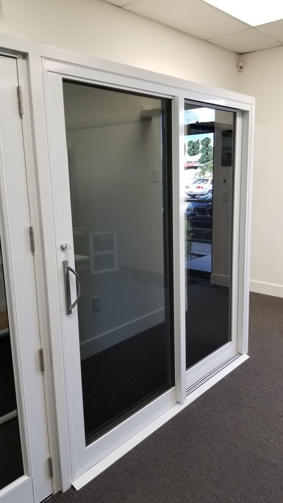 Sliding Glass Door in Stock